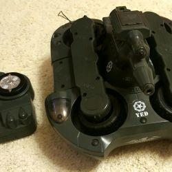 Radio-controlled tank