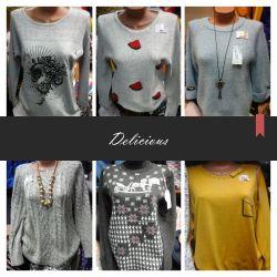 Bluzlar ve elbiseler