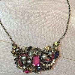 New necklace and bracelet