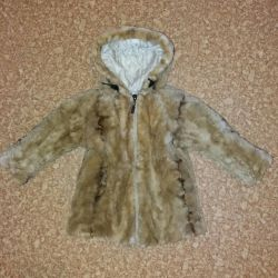 Mink Baby Fur Coat
