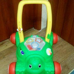 Walkers-wheelchair-tolokar with little tikes sorter