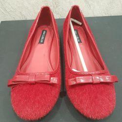 Yeni bale ayakkabıları