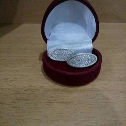 EARRINGS 925 sterling silver.