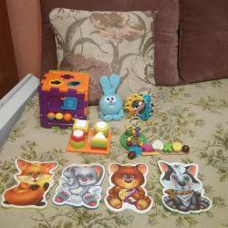 Eğitici oyuncaklar 3 ay +