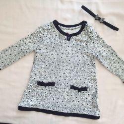 Rochie de tunică 6-12 luni