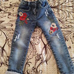 Warm jeans