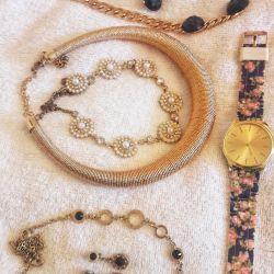Κολιέ ρολόι σύνολα σκουλαρίκια κολιέ κοσμήματα