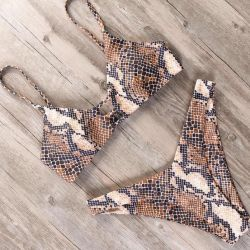 New Python Print Swimsuit