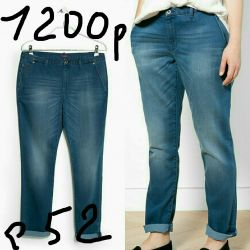 Jeans in the style of chinos new (from-104, about-128)