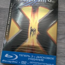 X-Men (2dvd + blu-ray)