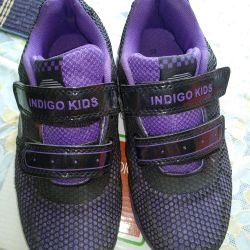 P / shoes school for the girl F. indigo kids 32 rr
