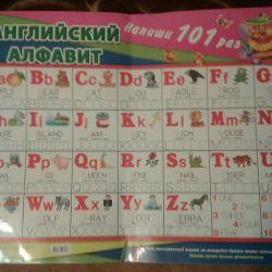 İngilizce alfabe