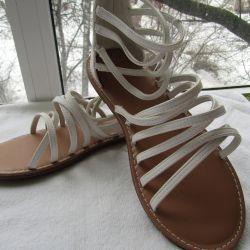 Γυναικεία 37 παπούτσια μεγέθους νέα σανδάλια Παλαιό ναυτικό