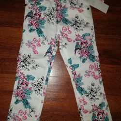 Νέα παντελόνια για ένα κορίτσι
