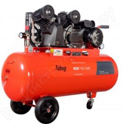 The compressor of a piston belt