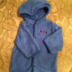 Terry dressing gown, 74-86cm