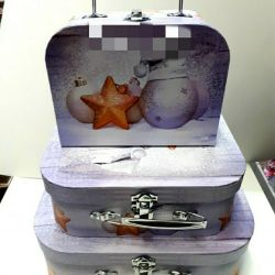 Gift Christmas suitcases !!!