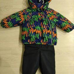 Winter suit Tokka Tribe 80-86