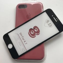 Cases and glasses for iPhones