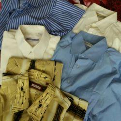 Мужские рубашки + брюки 52р