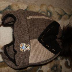 Pălărie nouă pentru iarnă băiat