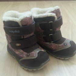 Πουλήστε χειμωνιάτικες μπότες εταιρεία Kapika