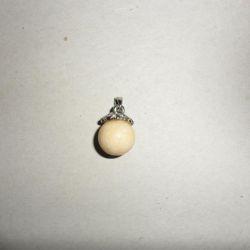 Cercei (rubin), pandantive (onix, perle), argint