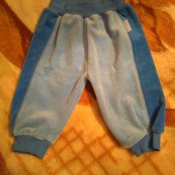 Kadife yeni pantolon