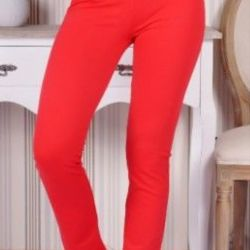 Trousers for women with high seating