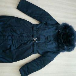 Winter coat for a full girl