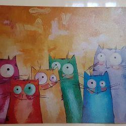 Магниты с котиками