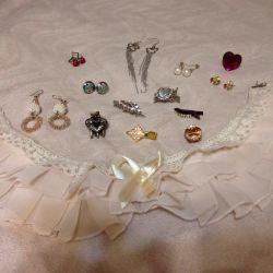 Cercei bijuterii brățări coafuri bijuterii