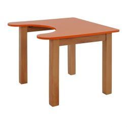 TABLE CHILD HM10187 ОРАНЖЕВЫЙ С ПРИРОДНЫМ ОРАНЖЕМ