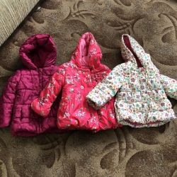 Jackets Mothecare Spring-Autumn 1.5 - 3 years