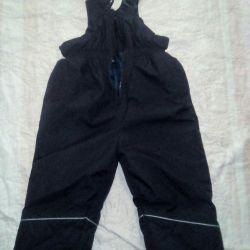 Warm pants kombez