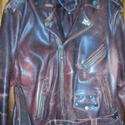 I will sell a jacket of a leather jacket