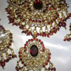 A set of jewelry from India