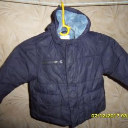 Jacket with lining p. 88- 92- 98 cm.