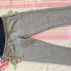 Новые утепленные брюки длина 70см