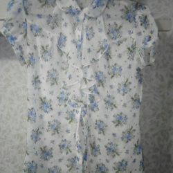Light translucent blouse