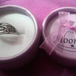 Silver ring 925 sample