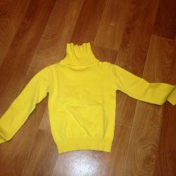 Yeni sarı kazak