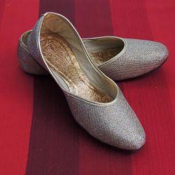 Золотистые балетки Индия (р.38)