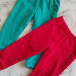 Trousers for children covered, children's things, leotards