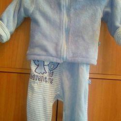 Blue seven suit