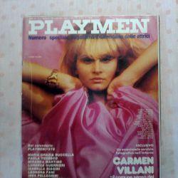 Magazine Playmen 1978. Italy.