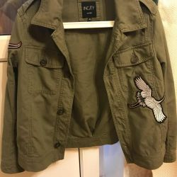 Yeni haki ceket