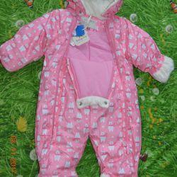 Yeni Bebek Go Kış Tulum