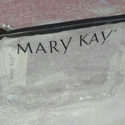 Cosmetic bag transparent