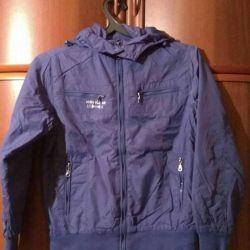 Jacheta de lumină SELA pe fleece.
